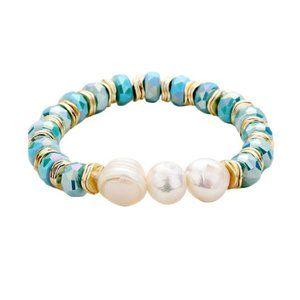 Jewelry - Tigerstars Fresh Water Pearl Bead Stretch Bracelet